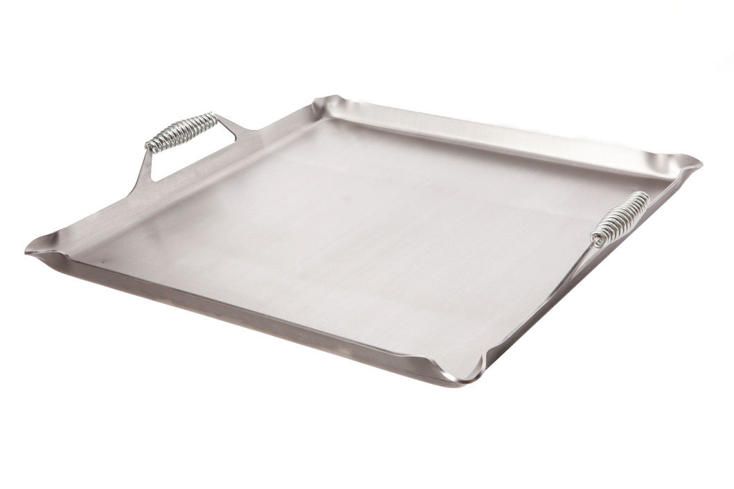 10 x 16 Rocky Mountain Cookware Master Chef 12 Gauge Steel Camping Griddle Metal